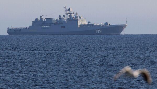 Судоходство в Калининградском морском канале и на рейде порта Балтийск - Sputnik Латвия