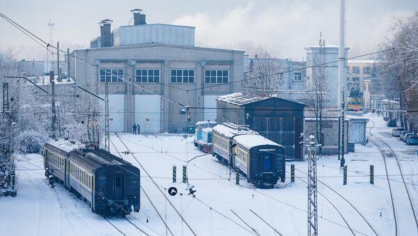 Вагоноремонтное депо Засулаукс - Sputnik Латвия
