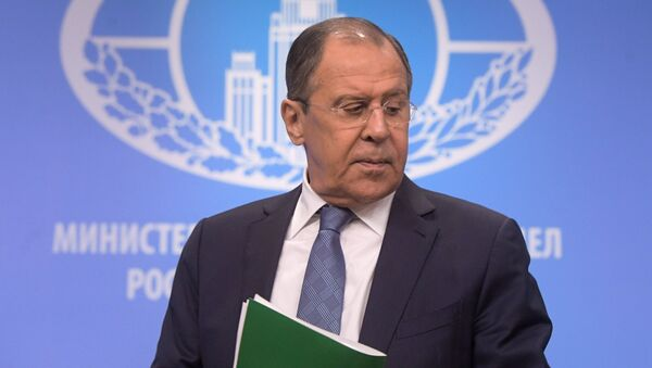 Krievijas ārlietu ministrs Sergejs Lavrovs - Sputnik Latvija