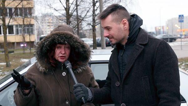 Женщина на субарике уверена в своих водительских навыках - Sputnik Латвия