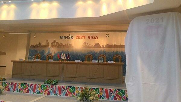 Беларусь и Латвия - заявка на ЧМ по хоккею 2021 - Sputnik Латвия