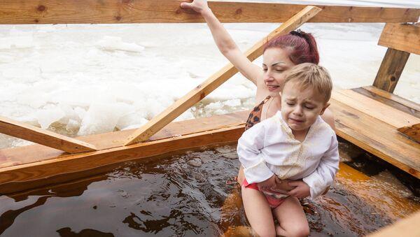 Праздник Крещения в Риге - Sputnik Латвия