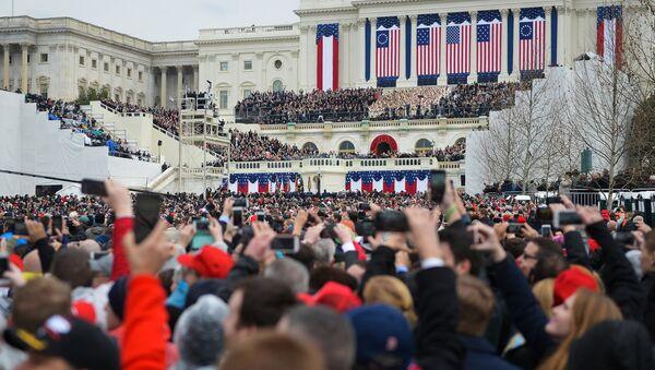 Инаугурация 45-го президента США Д. Трампа в Вашингтоне - Sputnik Латвия