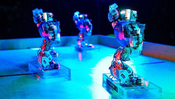 Бал роботов, танцующие роботы - Sputnik Латвия