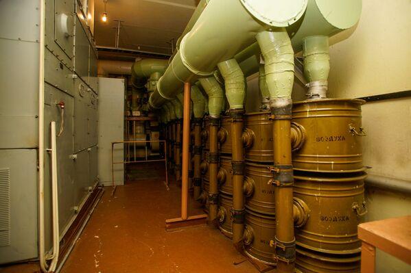 Система очистки воздуха в бункере - Sputnik Латвия