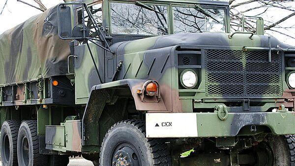 ASV armijas kravas automašīna. Foto no arhīva - Sputnik Latvija