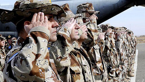 Spāņu karavīri. Foto no arhīva - Sputnik Latvija