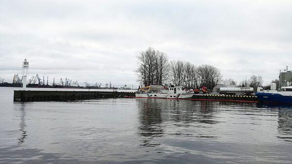 Nogrimušais kuģītis Bremene - Sputnik Latvija