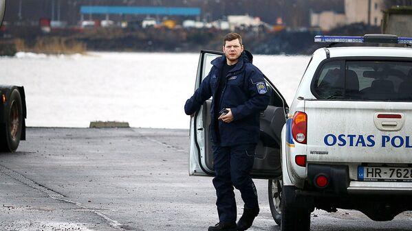 Ostas policijas parstāvis - Sputnik Latvija