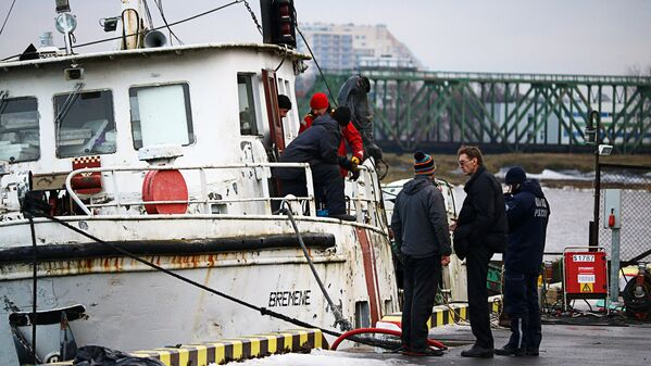 Ostas policija noskaidro notikuma iemeslus - Sputnik Latvija