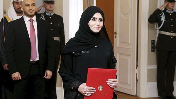 Посол из ОАЭ в Латвии Ханан Халфан Обаид Али Аль Мадхани - Sputnik Латвия