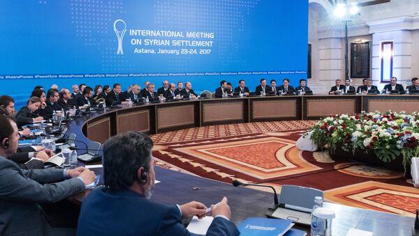 Встреча по Сирии в Астане - Sputnik Латвия