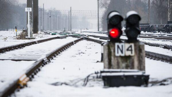 Маршрутный светофор Латвийской железной дороги - Sputnik Latvija