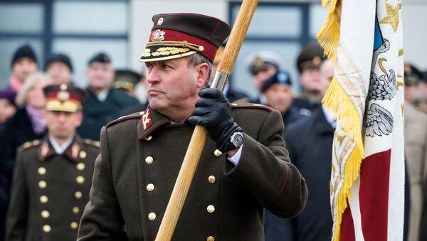Командующий Латвийскими Национальными вооруженными силами, генерал-майор Леонид Калныньш - Sputnik Latvija