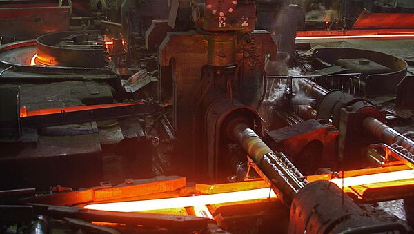 Лиепайский металлург цех металлопроката - Sputnik Latvija