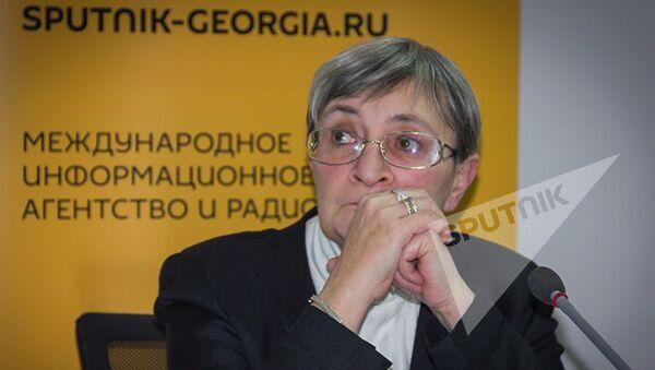Политолог Нана Девдариани - Sputnik Латвия