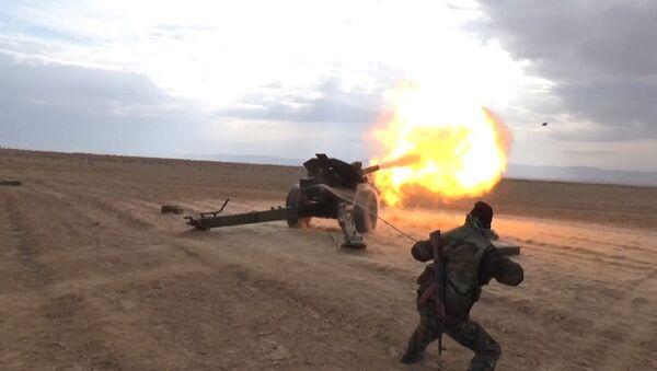 Trauslais pamiers: Sīrijā nerimst artilērijas apšaudes - Sputnik Latvija