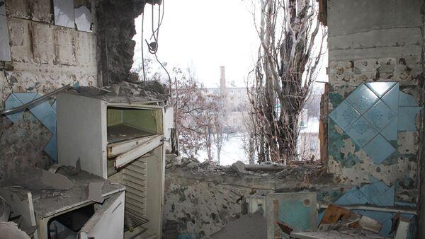 Ситуация после обстрелов в Донецке - Sputnik Latvija