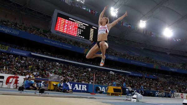 Латвийская спортсменка Инета Радевича - Sputnik Латвия