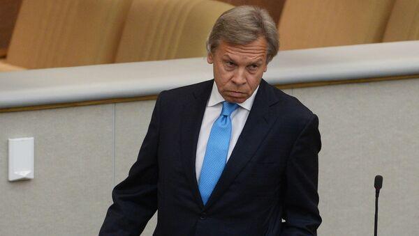 Председатель комитета Государственной Думы РФ по международным делам Алексей Пушков - Sputnik Латвия