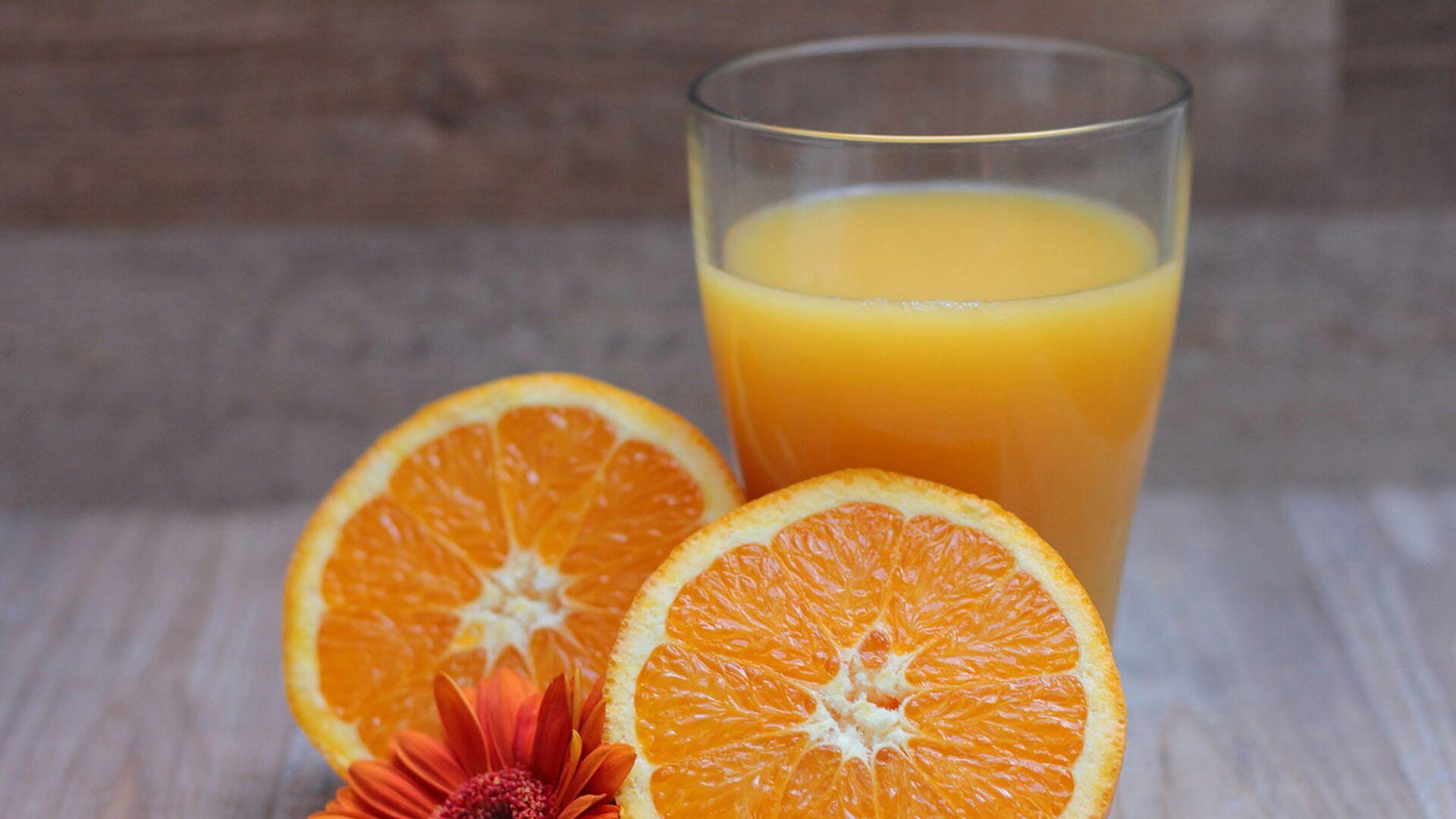 Апельсиновый сок - Sputnik Latvija, 1920, 14.04.2021