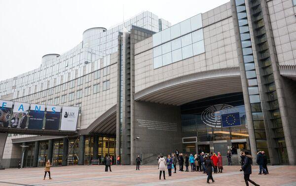 Здесь начинается знакомство с Европарламентом - Sputnik Латвия