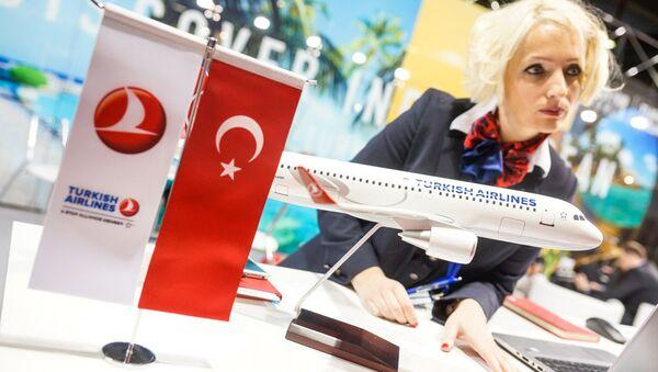 Стенд авиакомпания Turkish Airlines - Sputnik Latvija