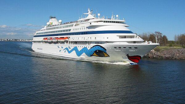 Круизный лайнер AIDA cara - Sputnik Латвия