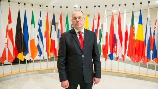 Депутат Европарламента от Латвии Андрей Мамыкин - Sputnik Латвия
