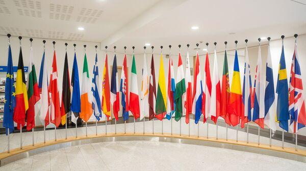 Флаги стран участников Евросоюза - Sputnik Latvija