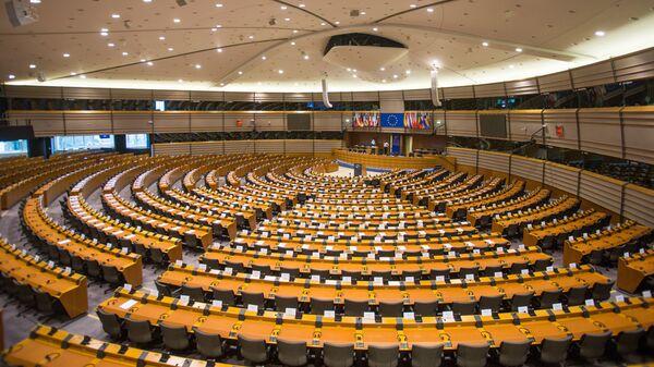 Зал заседаний Европарламента - Sputnik Латвия