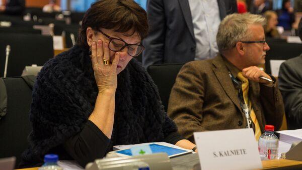Евродепутат от Латвии Сандра Калниете - Sputnik Latvija