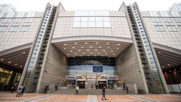 Здание Европарламента - Sputnik Latvija