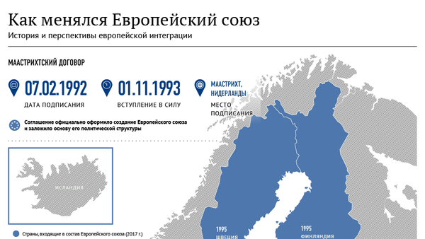 Как менялся Европейский союз - Sputnik Латвия