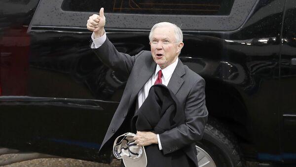 Джефф Сешнс, генеральный прокурор США - Sputnik Латвия