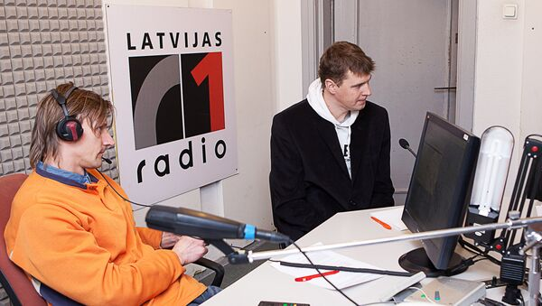 Латвийское радио, студия - Sputnik Латвия