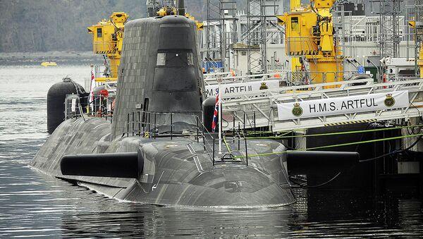 Британская подводная лодка - Sputnik Латвия