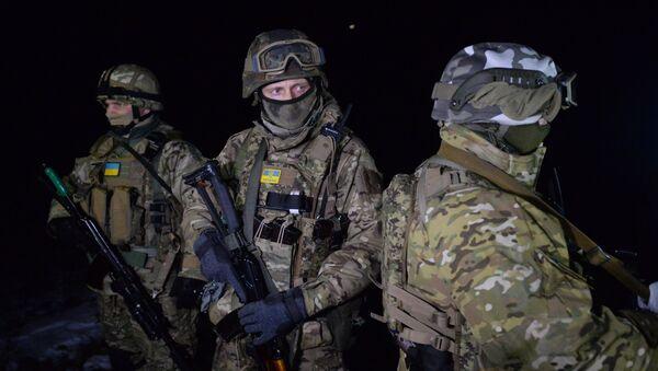 Военнослужащие Украины. - Sputnik Латвия