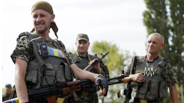Ukrainas Bruņotie spēki. Foto no arhīva - Sputnik Latvija