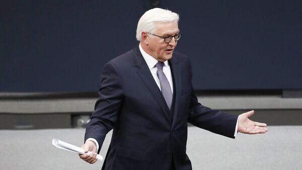 Новоизбранный президент Германии Франк-Вальтер Штайнмайер - Sputnik Латвия