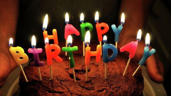Торт на день рождения - Sputnik Латвия
