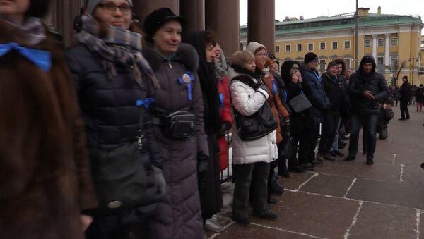 Акция протеста против передачи Исаакия РПЦ - Sputnik Латвия