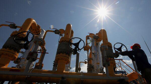 Продолжается строительство газопровода от ГРС - Sputnik Latvija