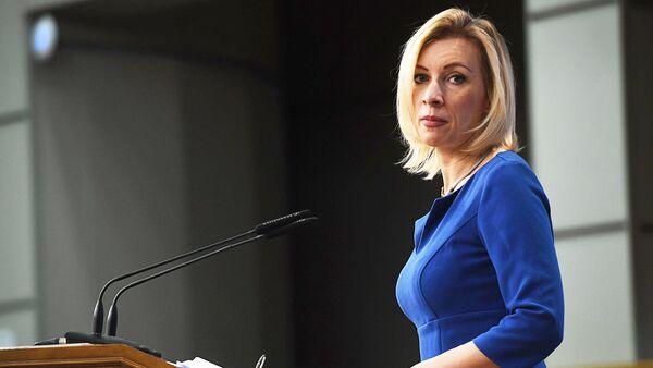 Официальный представителя МИД России Мария Захарова - Sputnik Латвия