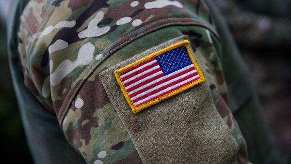 Солдат американской армии - Sputnik Латвия