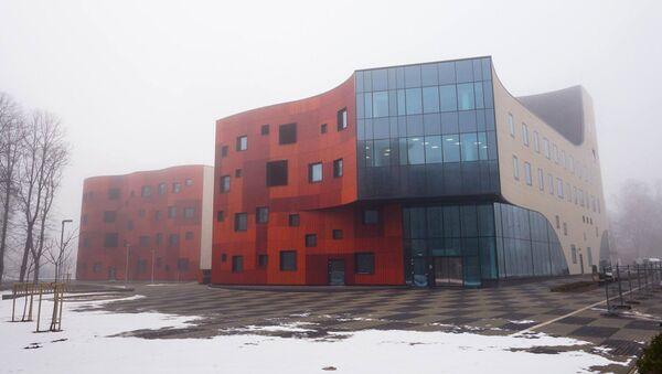 Новый корпус больницы имени Паула Страдыня - Sputnik Латвия
