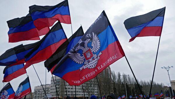 Флаги ДНР - Sputnik Латвия