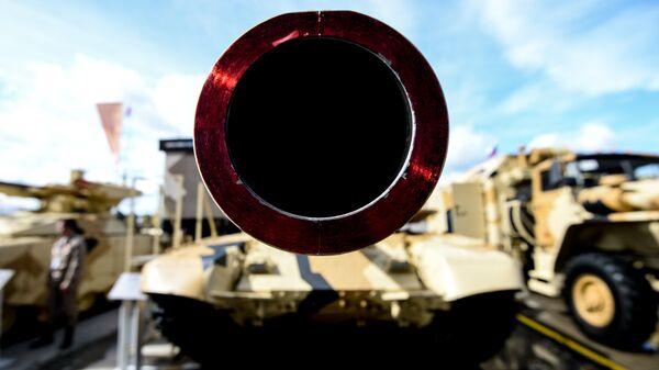 Танк Т-90МС на международном военно-техническом форуме - Sputnik Latvija