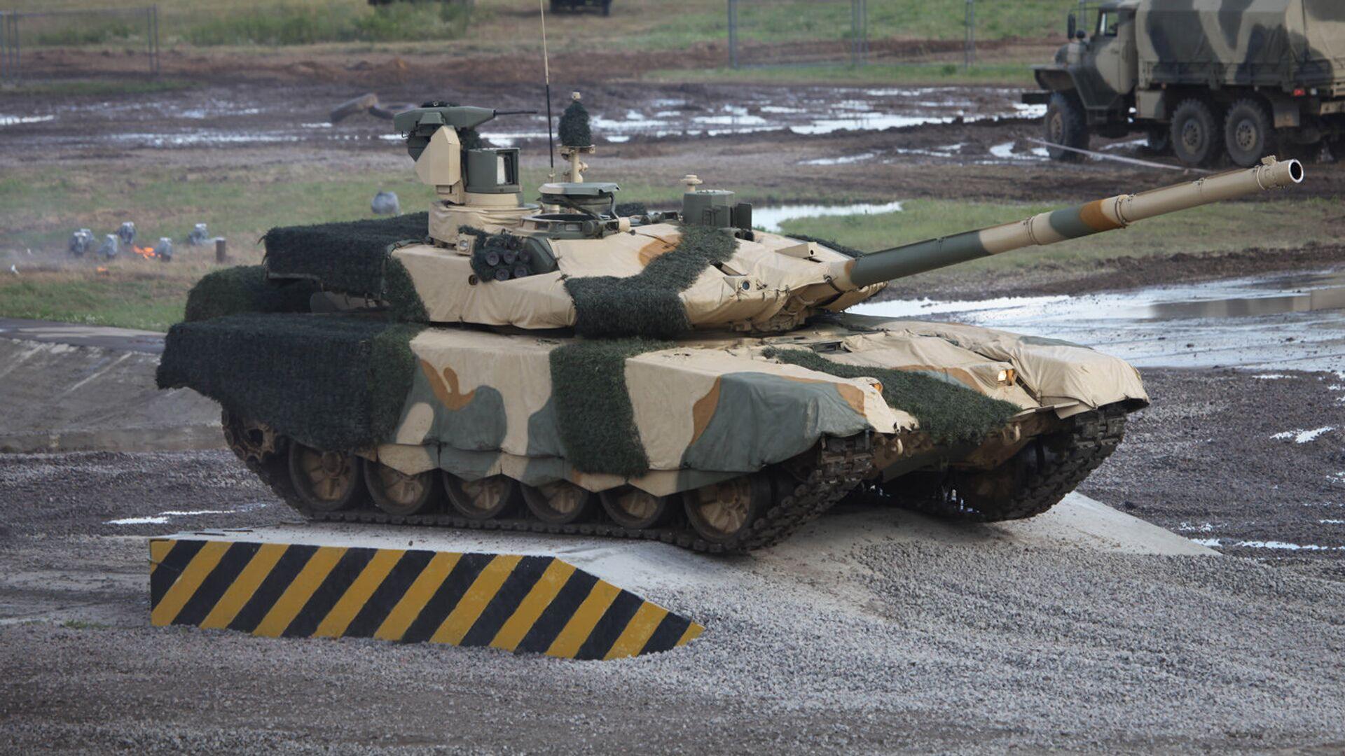 Танк Т-90МС - Sputnik Latvija, 1920, 10.03.2021