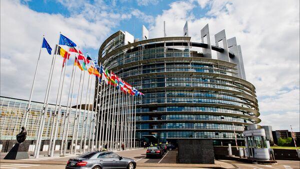 Здание Европейского парламента - Sputnik Латвия